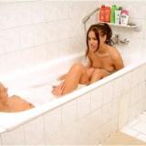 Foto's maken van mijn meiden die samen baden